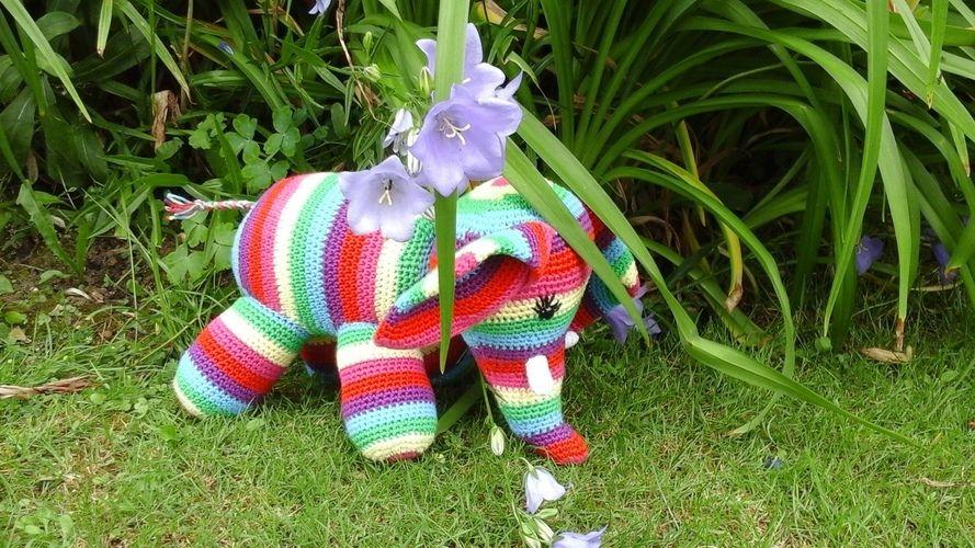 Makerist - Patapouff l'éléphant  au crochet pour ma petite nièce choupy  - Créations de crochet - 2