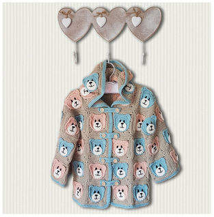 Makerist - Teddy Bears Picnic Jacket for 2 to 4 year olds - 1