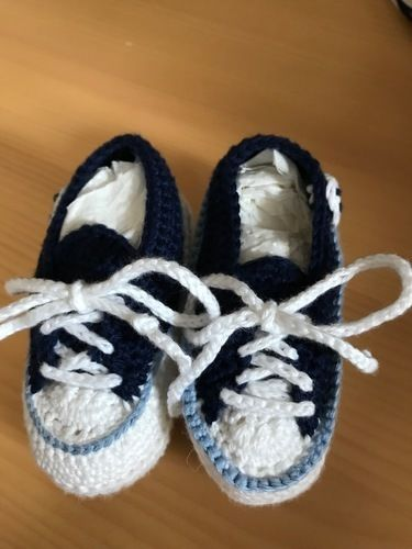 Makerist - Baby Chucks - Häkelprojekte - 2
