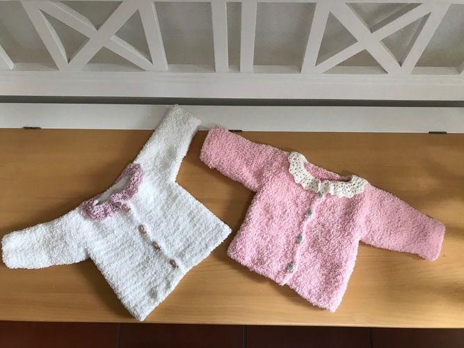 Makerist - Babyjäckchen - Häkelprojekte - 1