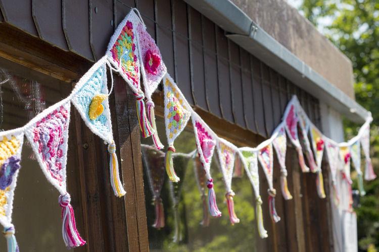 Makerist - Girlande für die Gartenlaube - Häkelprojekte - 1