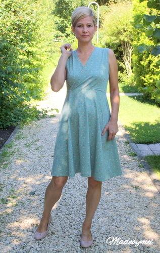 Makerist - Sommerkleid für mich, ich liebe Wickelkleider - Nähprojekte - 1
