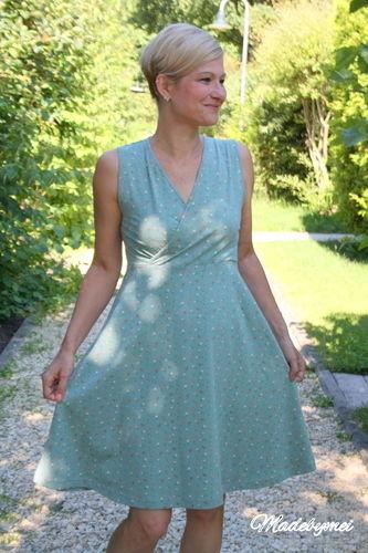 Makerist - Sommerkleid für mich, ich liebe Wickelkleider - Nähprojekte - 2