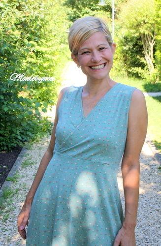Makerist - Sommerkleid für mich, ich liebe Wickelkleider - Nähprojekte - 3