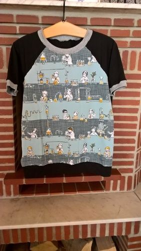 Makerist - Erfinder Shirt für meinen Enkel, 10 Jahre - Nähprojekte - 1