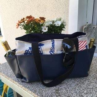Makerist - Shopping Bag Malme - Die Strandtasch - 1