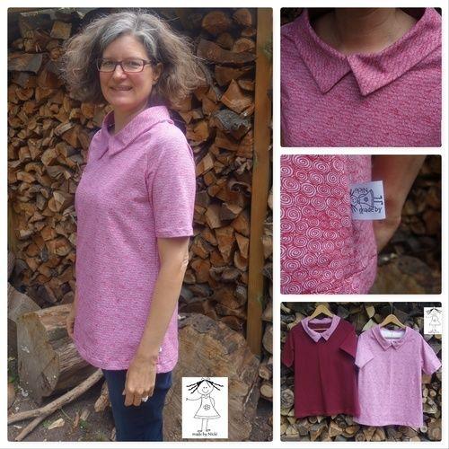 Makerist - Frau Lotte von hedinaeht als T-Shirt - Nähprojekte - 1