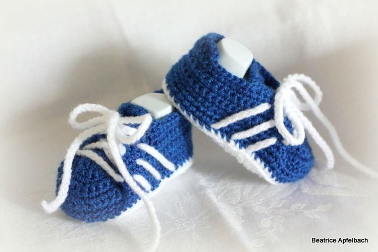 Makerist - Sneakers für die Kleinsten - Häkelprojekte - 1