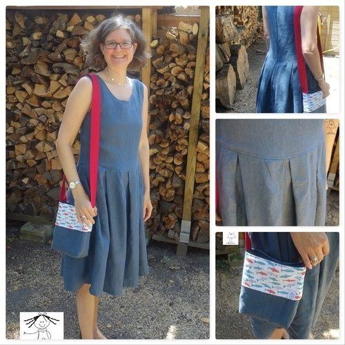 Makerist - Kleid aus Retroliebe (Oberteil) und Burdaschnitt (Rockteil) - Nähprojekte - 1