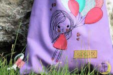 Makerist - Mädchen mit Luftballons - 1