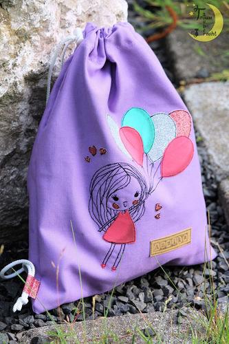 Makerist - Mädchen mit Luftballons - Textilgestaltung - 2