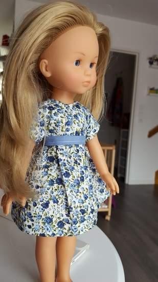 """Makerist - Robe """"cerise"""" pour poupée  - 1"""