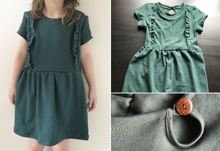 """Makerist - Kinderkleid """"Mila"""" - Nähprojekte - 1"""
