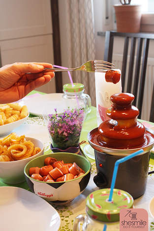 Makerist - Ein Currywurst-Brunnen zum 6. Geburtstag - 1