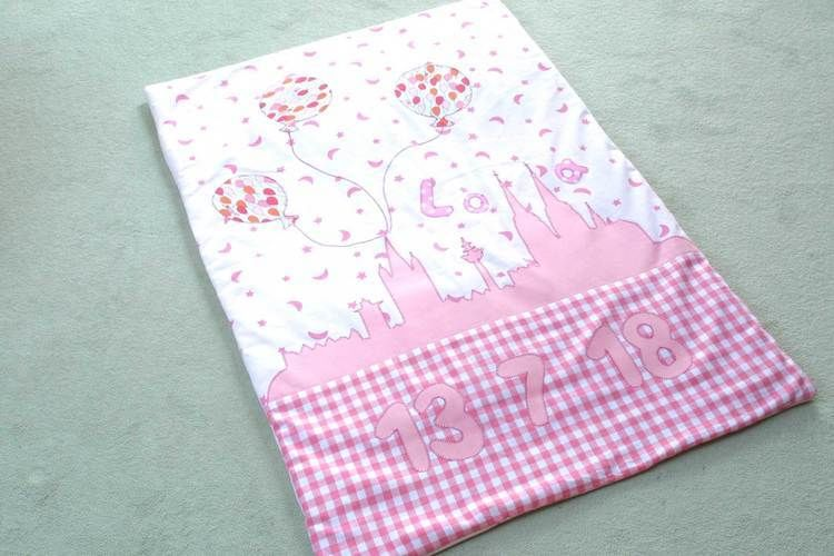 Makerist - Babydecke zur Geburt - Nähprojekte - 1