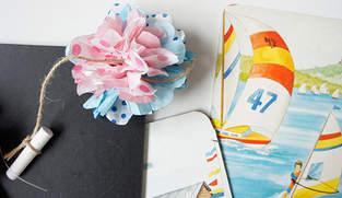 Makerist - Einladungskarten Pompom - 1