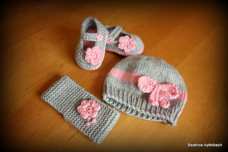 Makerist - Newborn Set - Strickprojekte - 1