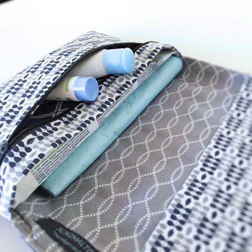 Makerist - Windeltasche Lotte als Geschenk zur Geburt - Nähprojekte - 1