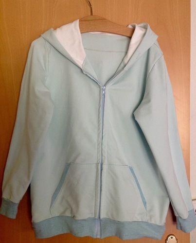 Makerist - Meine zweite Sweatshirtjacke  - Nähprojekte - 1