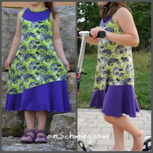 Makerist - Kleid Amalya, man hat lange was davon - Nähprojekte - 1