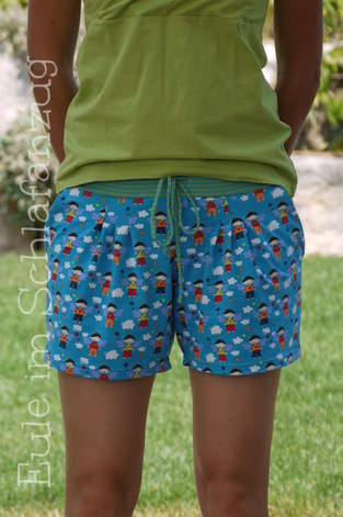 Makerist - Julika als Shorts - 1