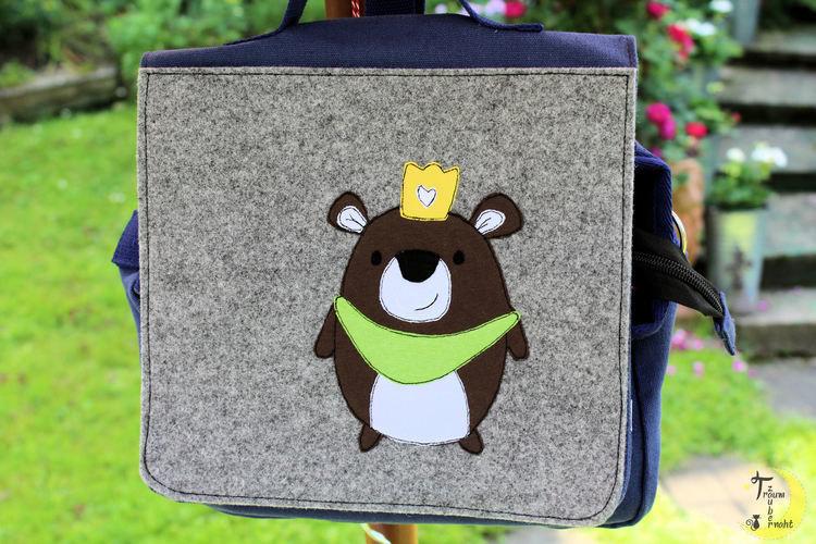 Makerist - Kiga-Tasche mit Applikation - Textilgestaltung - 1