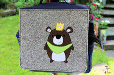 Makerist - Kiga-Tasche mit Applikation - 1