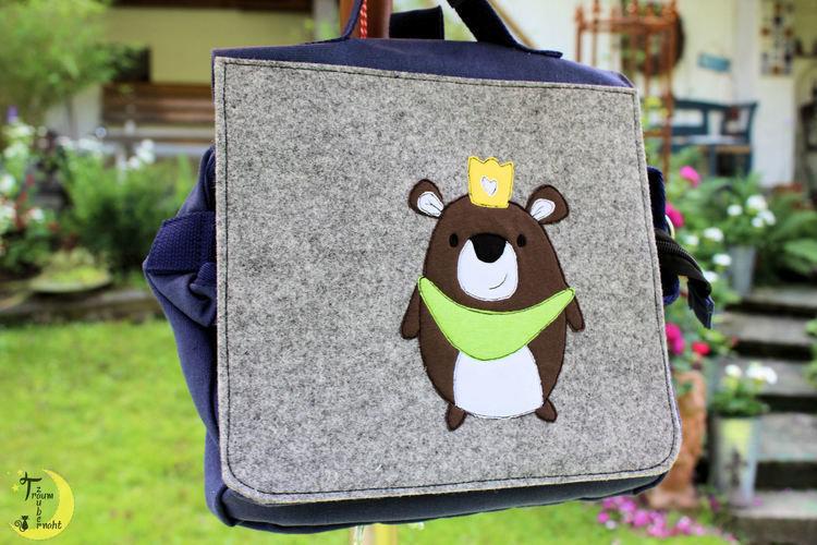 Makerist - Kiga-Tasche mit Applikation - Textilgestaltung - 2