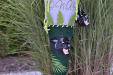 Makerist - Schultüte Panther mit Stickerei - 1