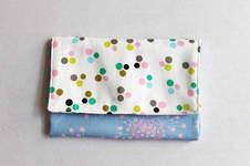 Makerist - Portemonnaie mit Polka Dots und Blüten - 1