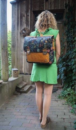 Makerist - Leonable Vintage Schoolbag von Lalilly-Herzilein - Nähprojekte - 3
