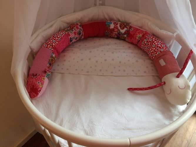Makerist - Puckschnecke und Bettschlange für Babys - Nähprojekte - 2