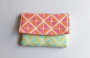 Makerist - Portemonnaie mit farbigen Quadraten - 1