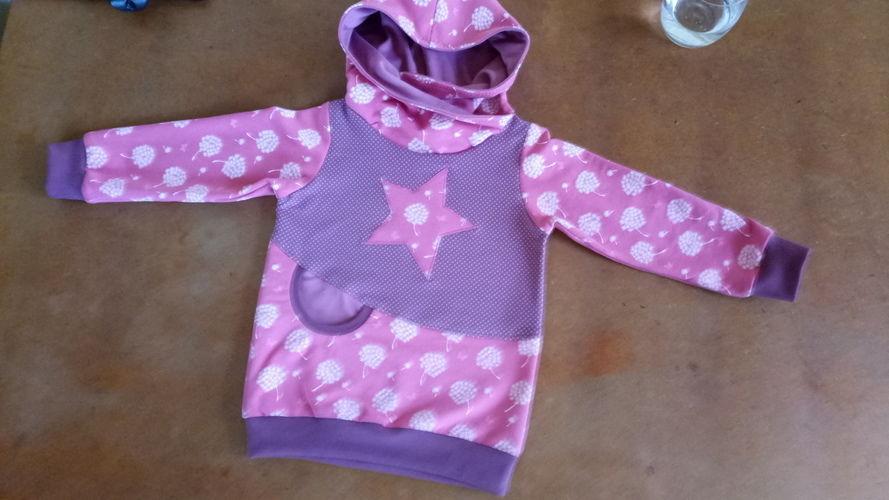 Makerist - Hoodie für das Enkelchen, Schnitt von Lybstes - Nähprojekte - 1