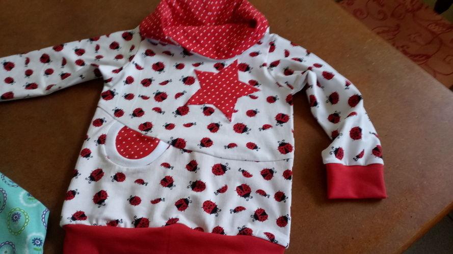 Makerist - Hoodie für das Enkelchen, Schnitt von Lybstes - Nähprojekte - 3