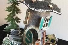 Makerist - Meine Wichtelhäuser 3 - winterlich gestaltet - 1