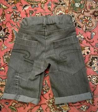 Makerist - Upcycling Jeans Shorts Gr.116 - 1