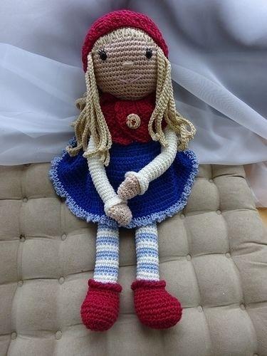 Makerist - Süße Puppe im Herbst-Look - Häkelprojekte - 1