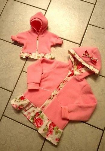 Makerist - Fleece Jacke für Groß und Klein - Nähprojekte - 1