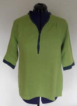Makerist - Blusen-Shirt aus Leinen von lillesol & pelle - 1