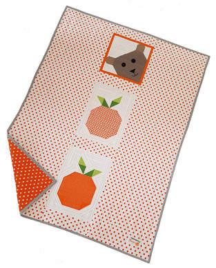 Makerist - Lucky Bear & Orange Patchworkdecke für unsere Kleinen - 1
