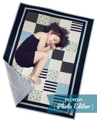 Makerist - Sunny Sea Feeling Patchworkdecke für Kinder - speziell für Geschwister oder Zwillinge - 1
