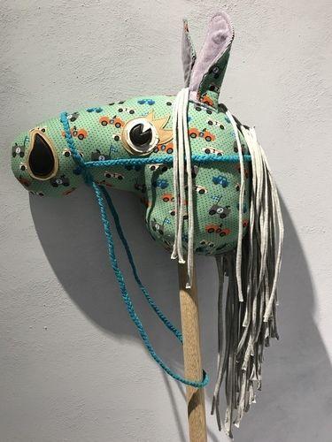 Makerist - Steckenpferd aus buntem Jeansstoff bzw. Cord und Jersey  - Nähprojekte - 2