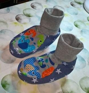 Makerist - Hausschuh für Kinder  - 1