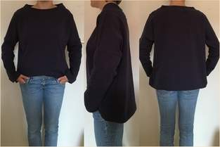 Makerist - Oversized-Pulli 'Frau Isa' - 1