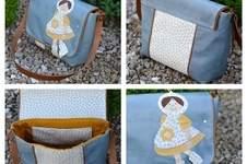 Makerist - Tasche Lina von Zaubernahnna mit Applikation Kapuzenmädchen - 1