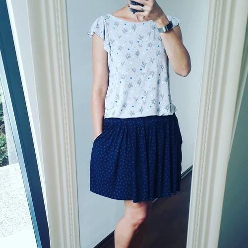 Makerist - Frau Smilla Modalshirt - Nähprojekte - 1