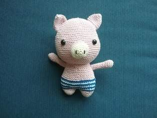 Makerist - Billie das Schwein von DIY FLUFFIES - 1