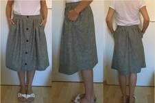 Makerist - 'Afternoon Skirt' aus Leinen - 1
