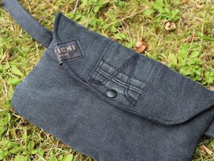 Makerist - Gürteltasche aus einer alten Jeans nähen - 1